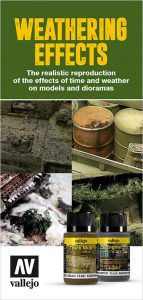 Vallejo Weathering Effects for models and dioramas
