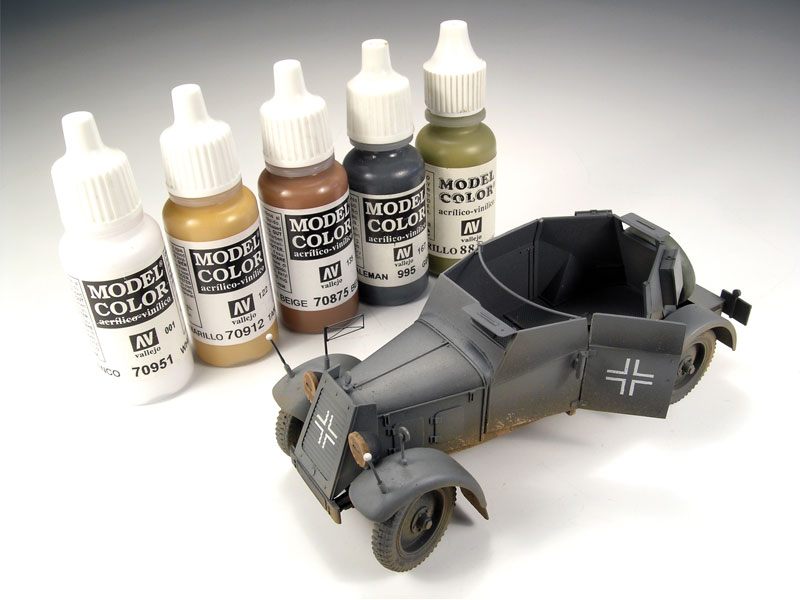 Model Color Is An Acrylic Colors Range For Painting Models And
