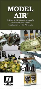 Model Air airbrush colors