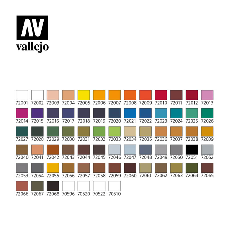 Vallejo Game Colors Case 72172