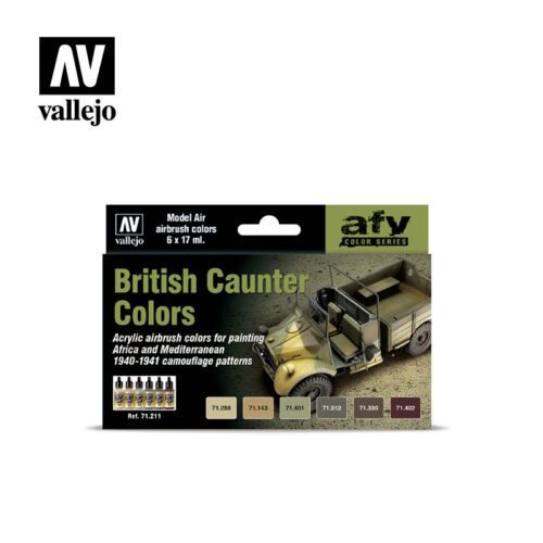 British Caunter Colors Vallejo AFV 71211