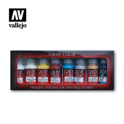 Elves vallejo fantasy paint set 72300