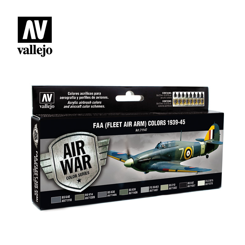 FAA Fleet Air Arm Colors 1939 1945 vallejo airwar 71147