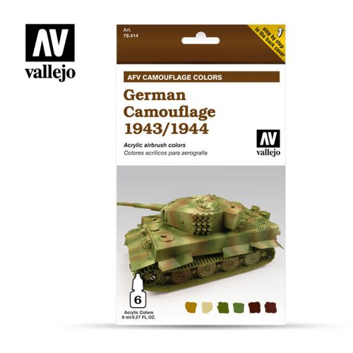 German Camouflage 1943 1944 vallejo afv 78414