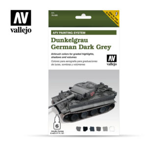 German Dark Grey dunkelgrau vallejo afv 78400