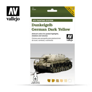 German Dark Yellow dunkelgelb vallejo afv 78401