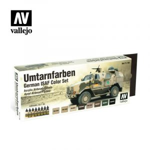 German ISAF Colors Untarnfarben vallejo afv 71159