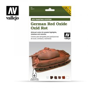 German Red Oxide vallejo afv 78411