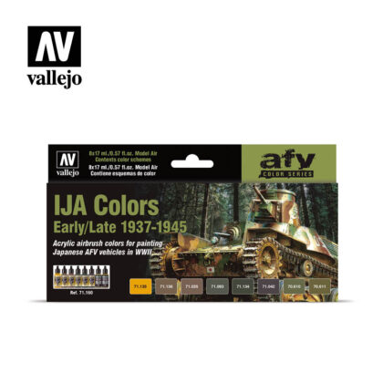 IJA colors early late vallejo afv 71160