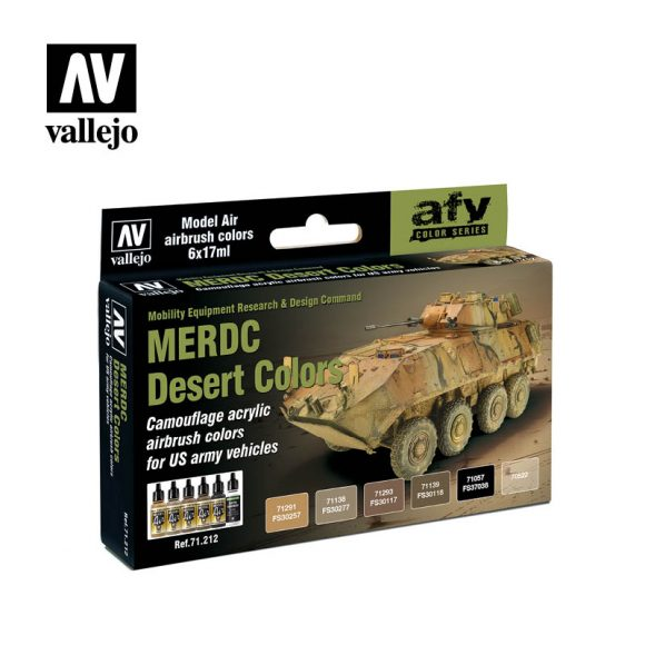 Merdc Desert Colors vallejo afv 71212