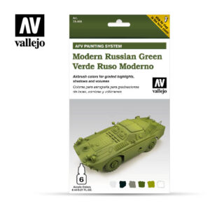 Modern Russian Green vallejo afv 78408