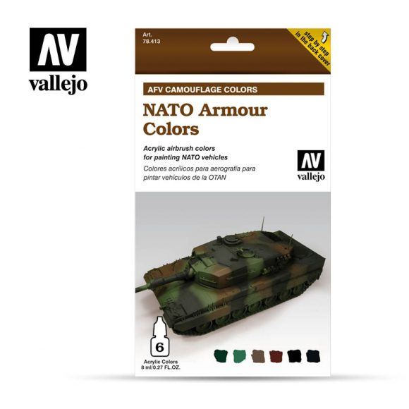 NATO Armour Colors vallejo afv 78413