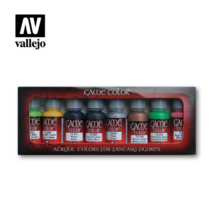 Orcs and Goblins vallejo fantasy paint set 72301