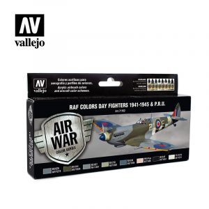 RAF Colors Day Fighters 1941 1945 & PRU vallejo airwar 71162
