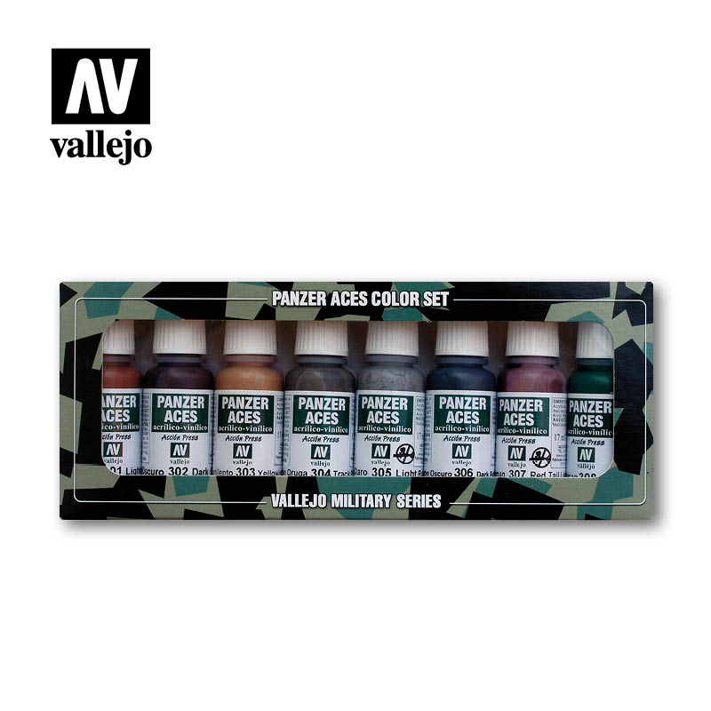 Rust Tracks Rubber & Pilot Lights vallejo afv 70122