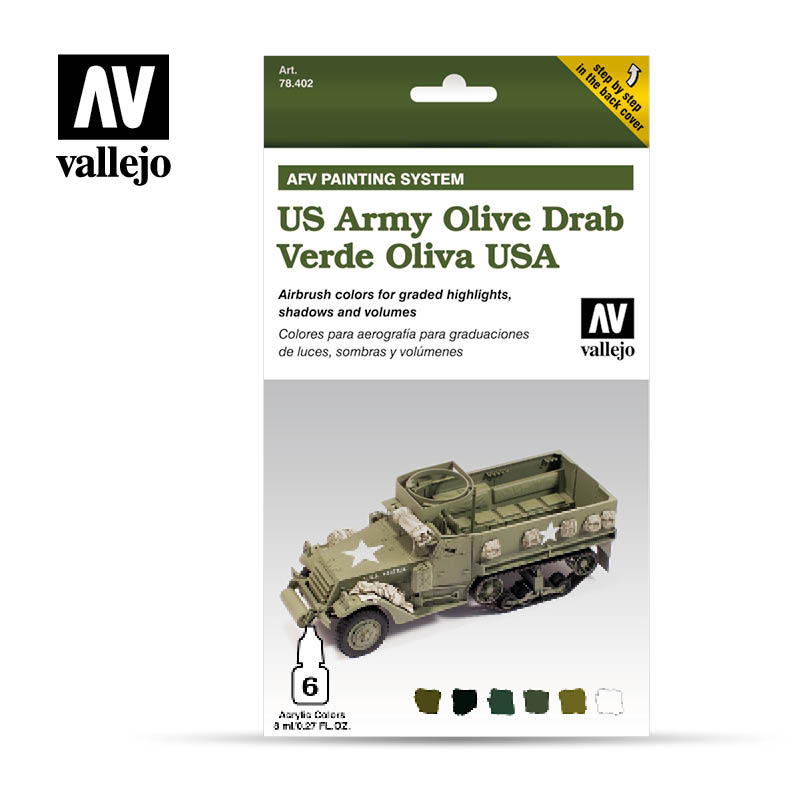 US Army Olive Drab vallejo afv 78402