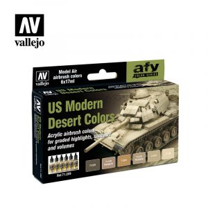 US Modern Desert Colors vallejo afv 71209