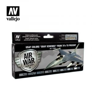 USAF Colors Grey Schemes from 70 to present vallejo airwar 71156