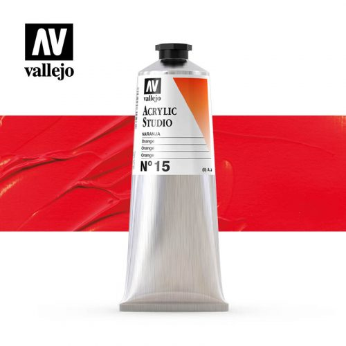Vallejo Acrylic Studio Orange 15