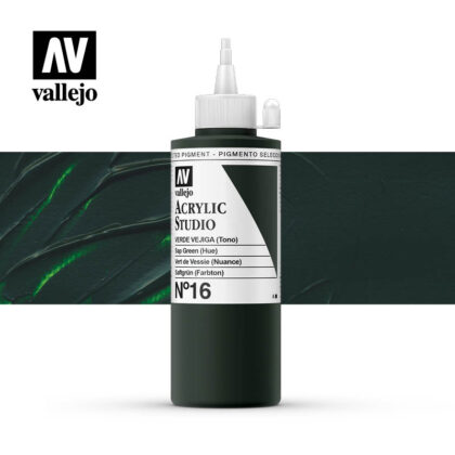 Vallejo Acrylic Studio Sap Green 16
