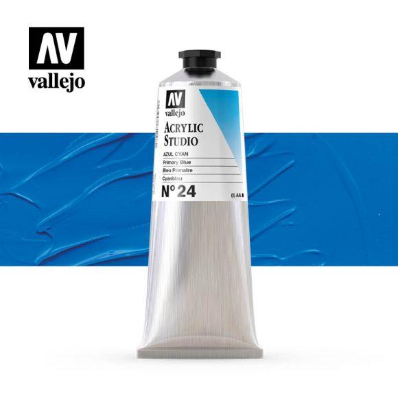 Vallejo Acrylic Studio Primary Blue 24