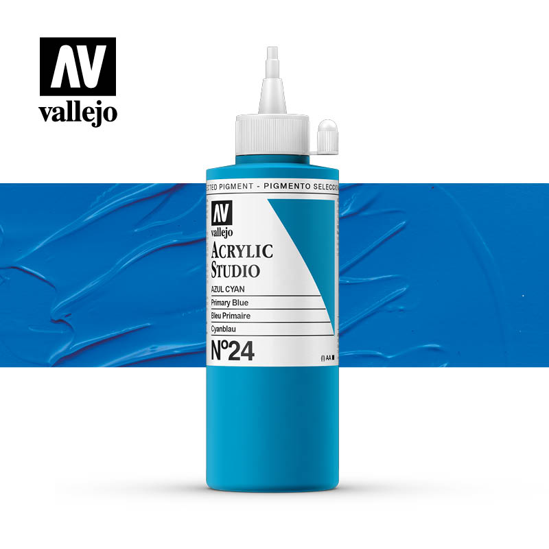Vallejo Acrylic Studio Primary Blue 24