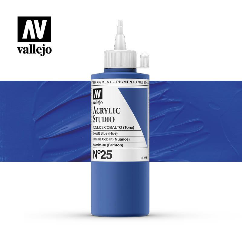Vallejo Acrylic Studio Cobalt Blue (Hue) 25