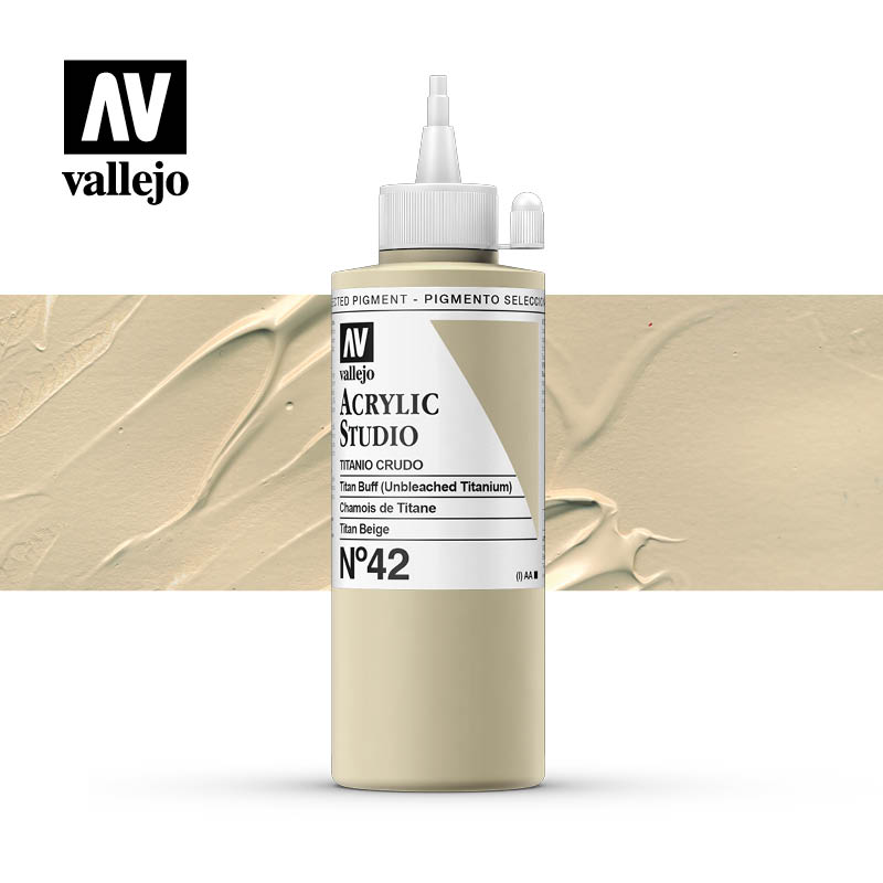 Vallejo Acrylic Studio Titan Buff 42
