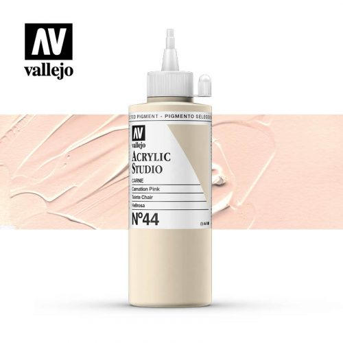 Vallejo Acrylic Studio Carnation Pink 44