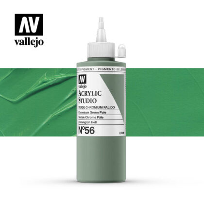 Vallejo Acrylic Studio Chromium Green Pale 56