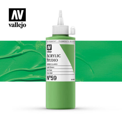 Vallejo Acrylic Studio Green Light 59