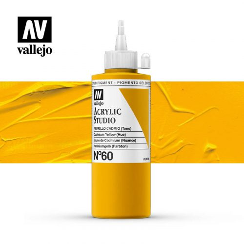 Vallejo Acrylic Studio Cadmium Yellow (Hue) 60