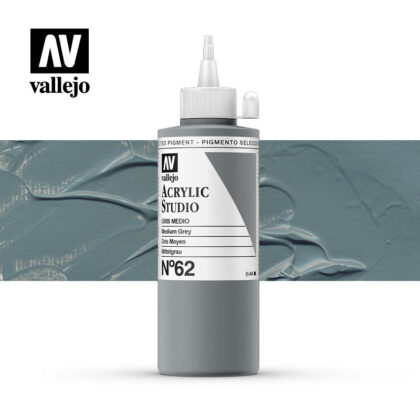 Vallejo Acrylic Studio Medium Grey 62