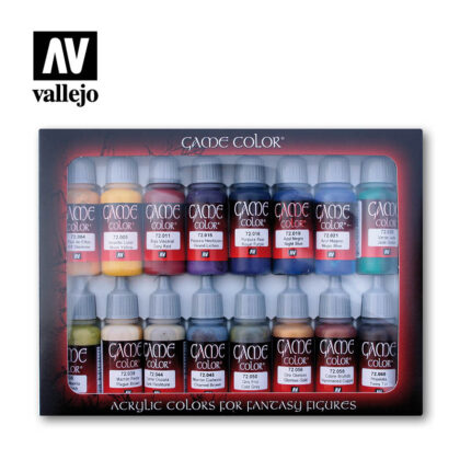 advanced 72298 vallejo game color basic set