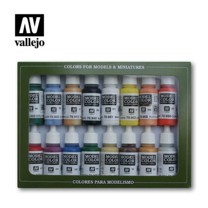 basic colors USA 70140 vallejo model color basic set