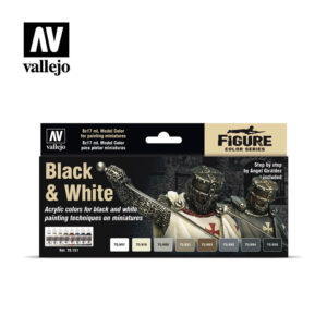 Black & White Vallejo Figure set 70151