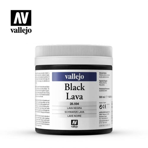 black lava vallejo 28594 500ml