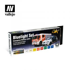 bluelight 71154 vallejo model air basic set