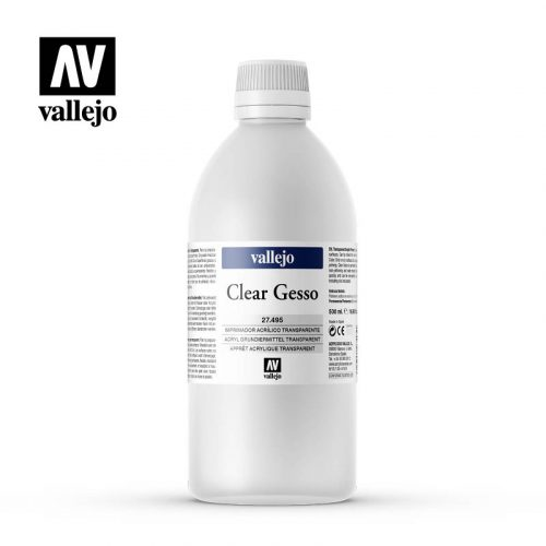 clear gesso vallejo 27495 500ml
