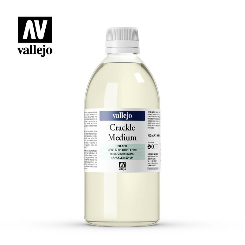 crackle medium vallejo 28160 500ml