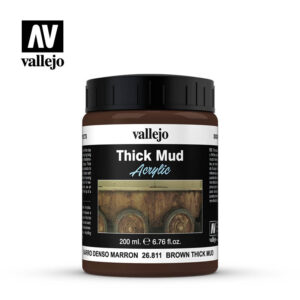 diorama effects vallejo brown thick mud 26811