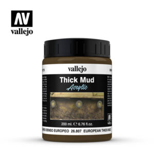 diorama effects vallejo european thick mud 26807