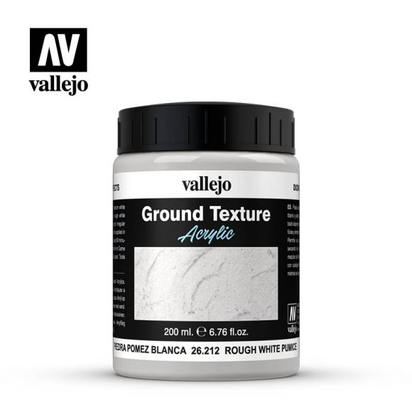 diorama effects vallejo rough white pumice 26212