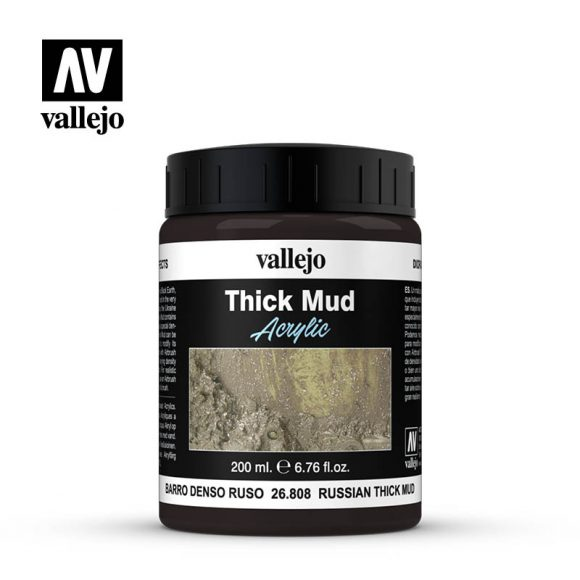 diorama effects vallejo russian thick mud 26808