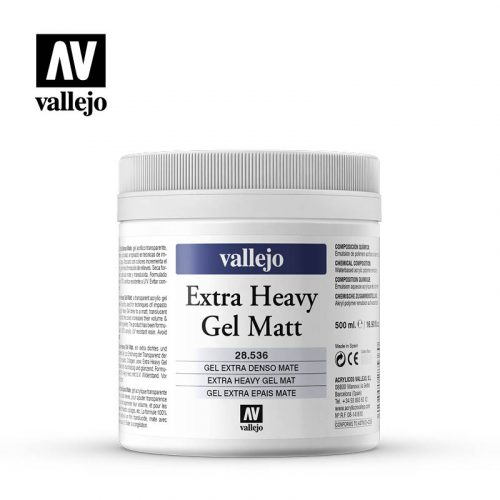 extra heavy gel matt vallejo 28536 500ml