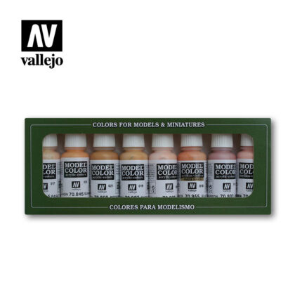 Face Skin Tones 70124 vallejo figure set