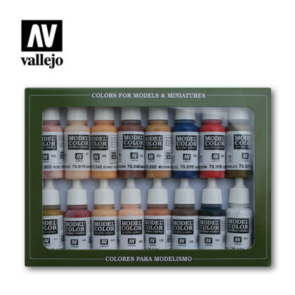 face skin tones 70125 vallejo figure set
