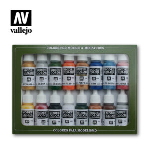 Folkstone Basics 70101 vallejo figure set