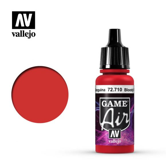 game air vallejo bloody red 72710