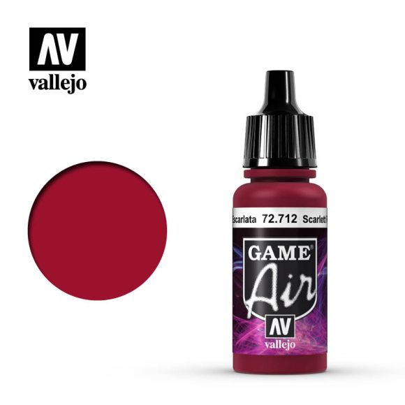game air vallejo scarlet red 72712